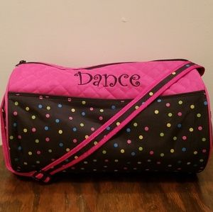 DANCE💖TOTE DUFFLE BAG
